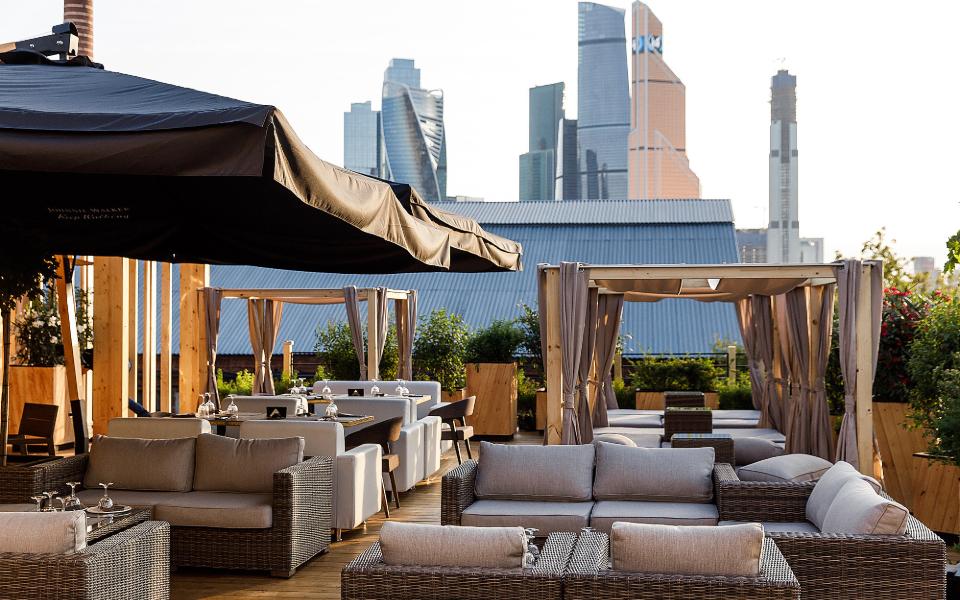 Панорамная веранда MyMoscow Terrace